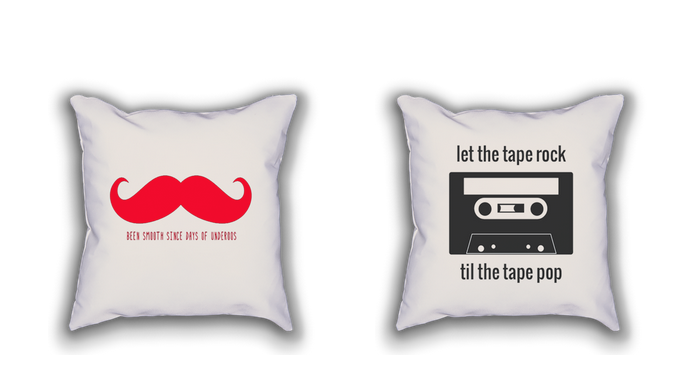 shawnda mcneal rap lyric throw pillows